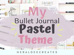 Know my easy techniques to help you create your best bullet journal pastel theme. Be inspired with pastel spread ideas for your monthly and weekly spreads. February Bullet Journal, Bullet Journal For Beginners, Bullet Journal Monthly Spread, Creating A Bullet Journal, Bullet Journal Set Up, Bullet Journal Cover Page, Bullet Journal Tracker, Bullet Journal Themes, Journal Covers