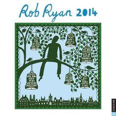 Rob Ryan 2014 Wall Calendar