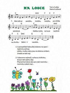 Výsledek obrázku pro dětské písničky o pampeliškách Music Do, Kids Songs, Kindergarten, Preschool, Bullet Journal, Classroom, Joy, Class Room, Nursery Songs