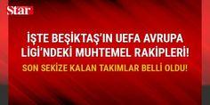 İşte #Beşiktaş'ın UEFA Avrupa Ligi'ndeki muhtemel rakipleri: #Beşiktaş'ın Olympiakos'u mağlup etmesinin ardından UEFA Avrupa Ligi'nde muhtemel rakipleri belli oldu. İşte #Beşiktaş'ın UEFA Avrupa Ligi'ndeki muhtemel rakipleri ve kuradan detaylar...