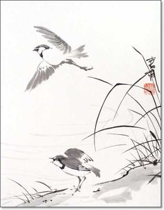 chinese scrolls birds - Bing Images