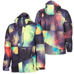 Volcom Mens 2013 Snowboard Blur Light Ekin Jacket Medium | eBay