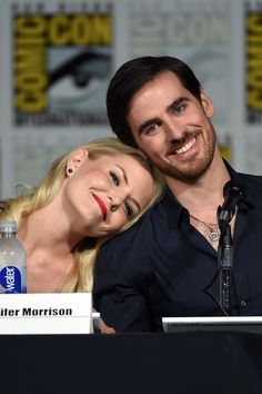 Pin for Later: The 1 Cute Thing Jennifer Morrison and Colin O'Donoghue Always Do at Comic-Con
