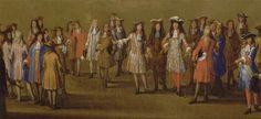 Walk of Louis XIV along the Parterre du Nord