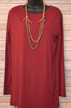 Boy, Oh Boy Top - Burgundy from The Charming Arrow Boutique