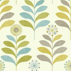 Arthouse Tamara Black White Retro Floral Feature Wallpaper 693300 for sale online Grey And Green Wallpaper, Orange Wallpaper, Paper Wallpaper, Retro Wallpaper, Retro Flowers, Retro Floral, Orange Tapete, Diy Tapete, Violet Pastel