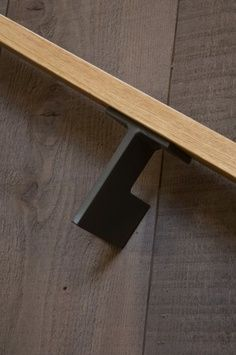 delicate black metal handrail