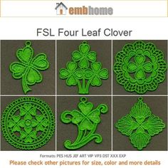 FSL SPRINTIME DOILY 4inch FREE SHIPPING 10 Machine Embroidery Designs CD