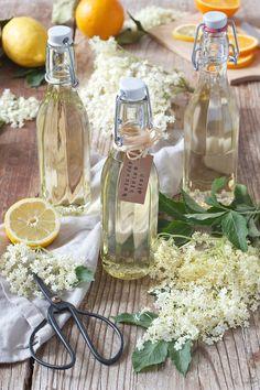 Holundersirup selber machen nach dem Rezept von Sweets & Lifestyle®