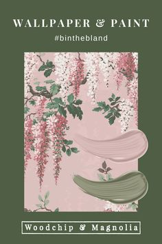 Always bold and always beautiful, Woodchip & Magnolia is anything but bland.#binthebland Lowes Wallpaper, Painting Wallpaper, Wallpaper Samples, Home Decor Bedroom, Bedroom Ideas, Pearl Lowe, Magnolia Paint, Interior Ideas, Interior Design
