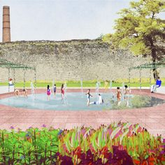 DOGMA With Elia Zenghelis and StudioSilva: Decameron. Project for the central park of Prato (2016)