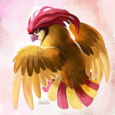 017 - Pidgeotto by TsaoShin on DeviantArt Pokemon Sketch, Cute Pokemon, Bird Pencil Drawing, Flying Type Pokemon, Deviantart Pokemon, Bird Mom, Anime Watch, Original Pokemon, Pokemon Images