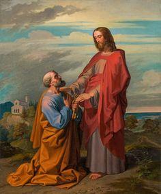 Jesus Lives, Jesus Christ, San Peter, Jesus Pictures, Blessed Mother, Christian Inspiration, Catholic, Saints, Artist