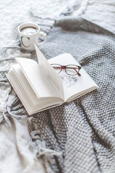 'Use the corner of the room to create a hyggelig place to recharge your batteries.' Marie Tourell Søderberg, author of Hygge, The Danish Art of Happiness. I Love Books, Good Books, Books To Read, Free Books, Flatlay Instagram, Fred Instagram, Fall Inspiration, Coffee And Books, Book Aesthetic