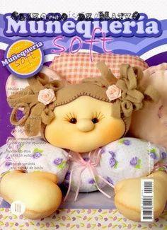 Revistas de manualidades Gratis: muñecas soft