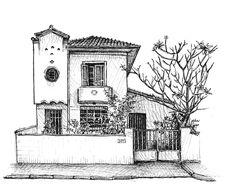 Memória desenhada: ilustrador registra casarões de SP em livro