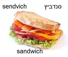 sandwich #hebrew