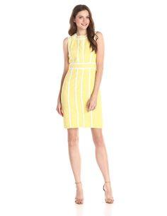 Brocade Sheath Dress by Calvin Klein