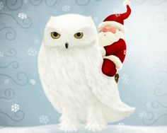 Merry Christmas Owl Background | Related Pictures happy wallpaper valentines download background ...