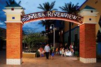 This looks fun to walk around & eat lunch or dinner? Mesa Riverview