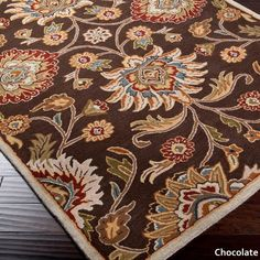 Hand-Tufted Patchway Wool Rug (2' x 3') - Free Shipping Today - Overstock.com - 17701879 - Mobile
