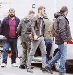 Can you feel the ACTION ?   NOT LONG NOW .....   The countdown to the most Anticipated New Series is now less than a week away   👇🏼 here's a little sneak peeek from the set warm us up  #Carpisma  #KivancTatlitugNorthAmerica  Kıvanç Tatlıtuğ Ay Yapım