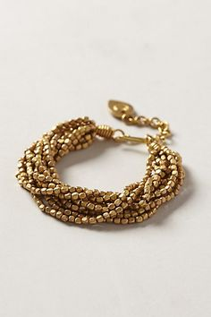 Camia Bracelet #anthropologie Possible DIY project.