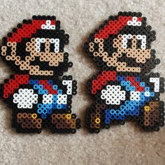 Marios perler beads by celebrity.perler