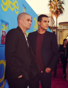 Brothers!  Mark Sailing and Jacob Artist