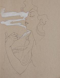 Alphonse Mucha | Sketches.