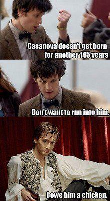 Casanova. i really liked david tennant in this lol