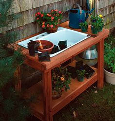A Potting Table with a Twist - Project Plan