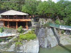 The restaurant at Jarabacoa. Jarabacoa River Club
