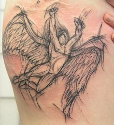 Sketchy Led Zeppelin by ~gabrielcece on deviantART