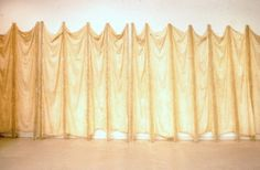 """""""Expanded Expansion"""", February 1969 Fiberglass, latex, cheesecloth Installation variable, 3 units Solomon R. Guggenheim Museum, New York, gift of the family of Eva Hesse © The Estate of Eva Hesse. Courtesy Hauser & Wirth"""