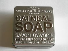 Scottish Fine Soaps Company Oatmeal Triple Milled Soap in A Tin