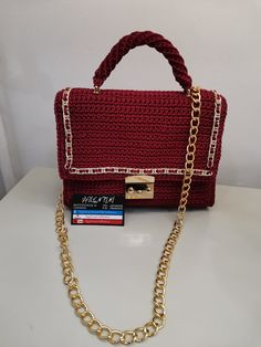 Handmade Bags, Chanel Boy Bag, Shoulder Bag, Products, Handmade Handbags, Shoulder Bags, Homemade Bags, Gadget