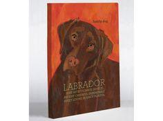 "Chocolate Lab Canvas Print - 11"" x 14"" print ($32.99/$100.00)"