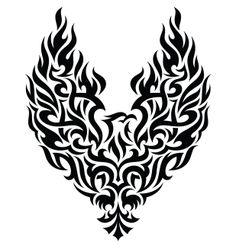 Tribal Phoenix Tattoo Designs | glitschka studios | illustrative designer : Walking Portfolios