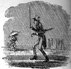 Absentmindedness, George Cruikshank There are times that we have much in common with our forebears