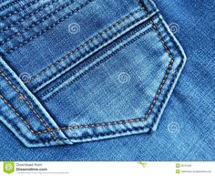 double stitch denim | Jeans Background : Denim Pocket - Stock Photos Stock Photo…