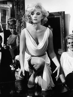 "Virna Lisi in (one of my faves) ""How to murder your wife""-1965"