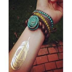 BODY TEMPORARY METALLIC TATTOO https://allaboutyougifts.com/#DG0306