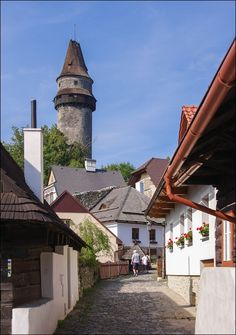 Štramberk ~ travelling Czech Republic, you should deffintely visit this castle and town