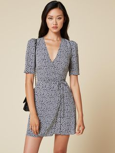Marita dress dogwood by Reformation
