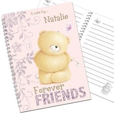 Personalised Forever Friends Notebook  from Personalised Gifts Shop - ONLY £7.99