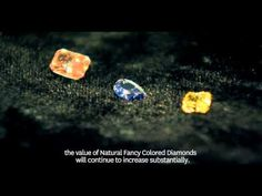 Demand for Natural Fancy Colored Diamonds are on the rise due to the extreme rarity and desirability. Investment Advice, Colored Diamonds, Investing, Interview, Channel, Fancy, News, Business, Youtube
