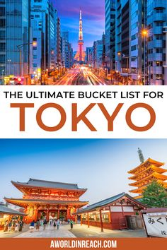 Planning a trip to Tokyo, Japan? Check out these great sights and experiences to add to your Tokyo bucket list! / Things to do in Tokyo, Japan / Things to do in Japan / Tokyo bucket list / Tokyo foodie bucket list / what to do in Tokyo / festivals in Tokyo / experiences in Tokyo / things to see in Tokyo / Tokyo travel guide / Japan travel tips / Tokyo travel tips / TeamLab Borderless Tokyo / Mario Kart in Tokyo / must-do activities in Tokyo / Tokyo travel tips / Tokyo itinerary / Japan…