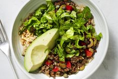 Get the recipe for Spanish Beef and Rice Bowls With Avocado.