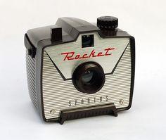 rocket camera, 1962 • spartus corporation